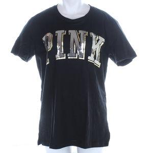 Pink Victoria's Secret BLING tee shirt top NWT